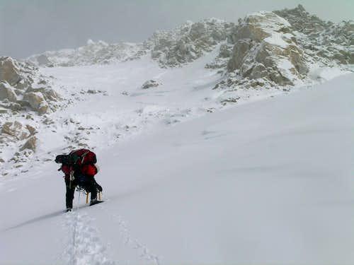 Upper snow slopes 19Kish