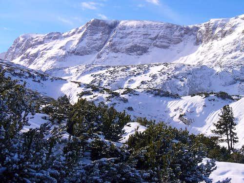 Vorderer Gjaidstein (2414 m) and Niederer Gjaidstein (2482 m)