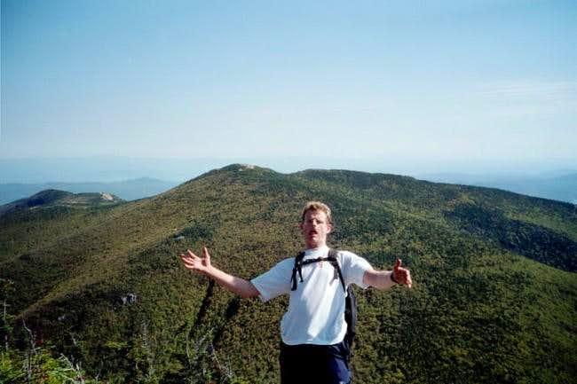 The view of Rocky Peak ridge...