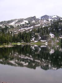 Gros Pk from Turquoise Lake