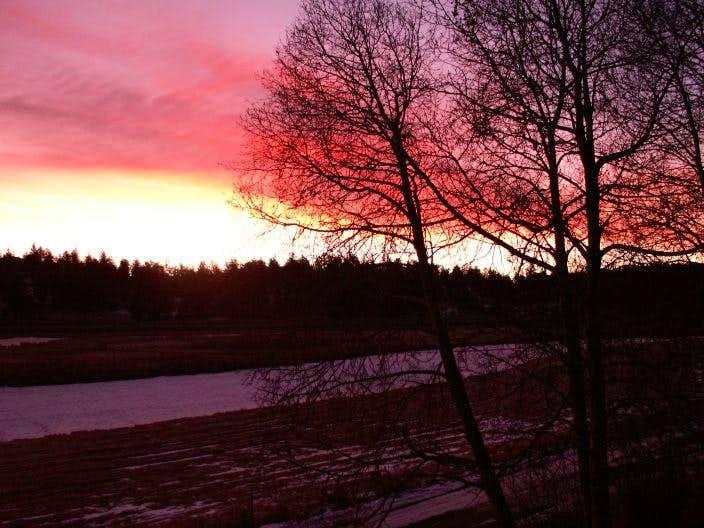 Sunrise on Christmas Day