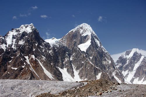 East Face of Khani Basa Sar (6441m)