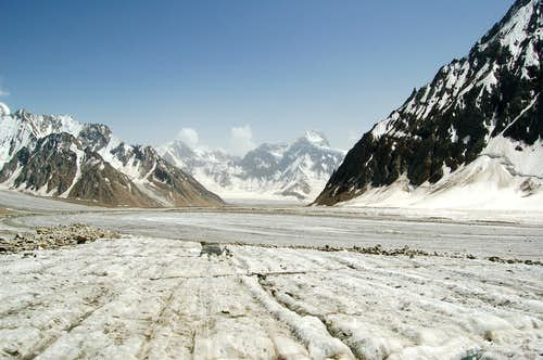 The Khani Basa Glacier
