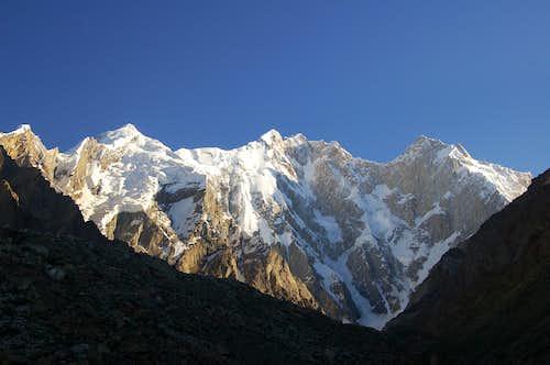 The Kunyang Chhish Massif from the South