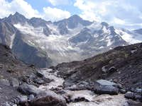 View From The Lower Slopes Of Elbrus