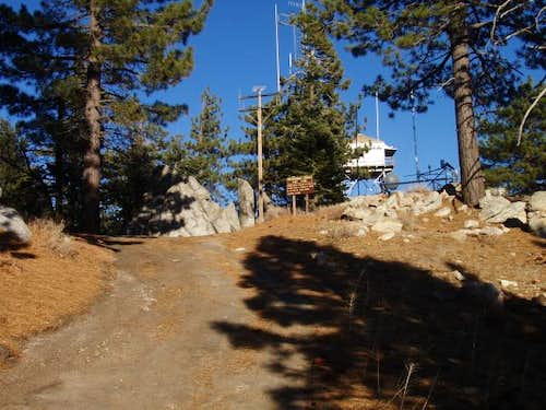 First view of Breckenridge Lookout