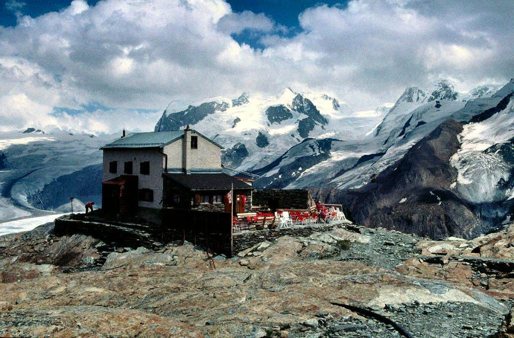 View from the Gandegg Hut
