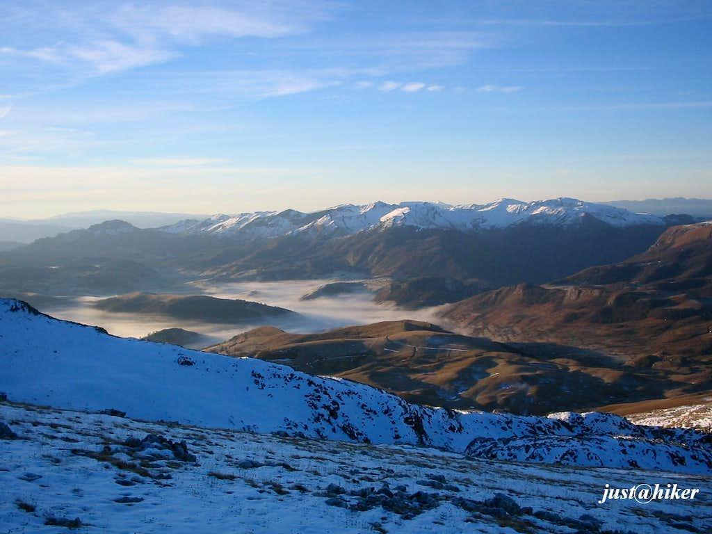 Visocica peaks