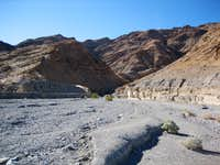 Entrance to Mosaic Canyon