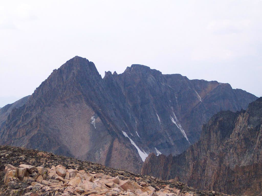 Granite Peak as seen from Peal