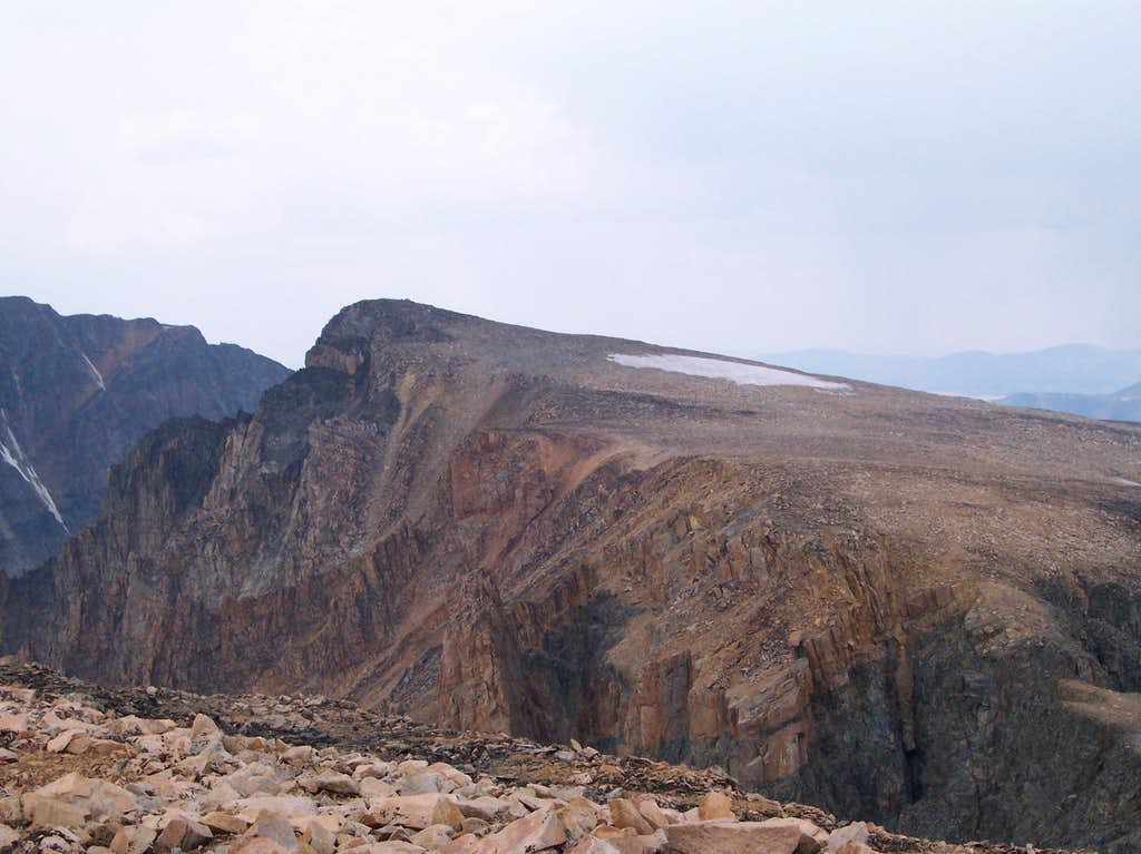 Tempest Mountain as seen from Peal