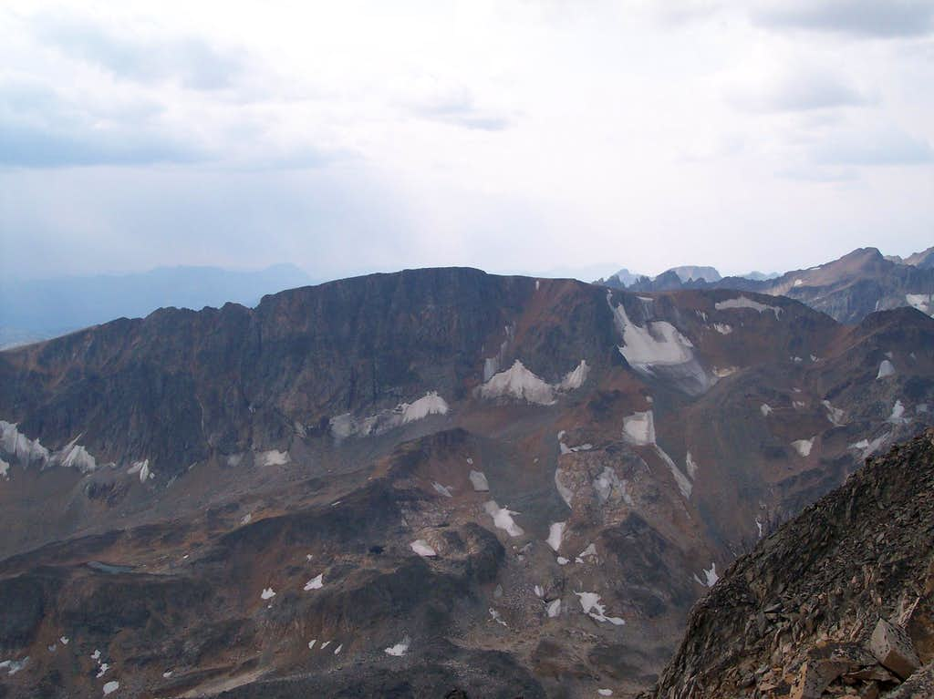 Cairn Mountain as seen from Peal