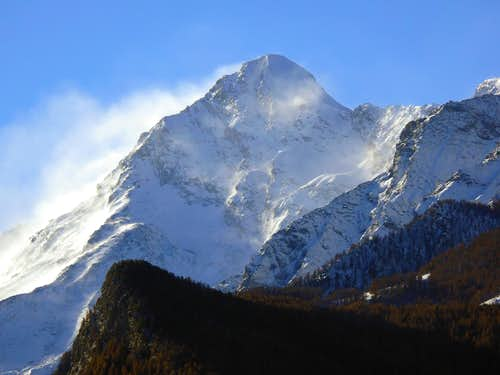 The famous 3.500m in the Aosta Valley and the normal route or no  (Central Valley)