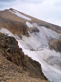 Peal Glacier and Summit