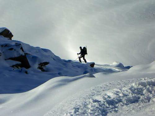 Skiing Wildspitze