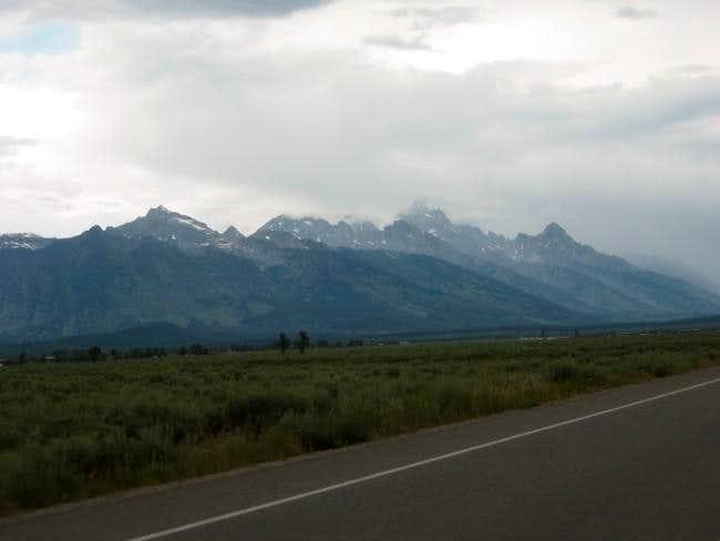 The Grand Teton before an...