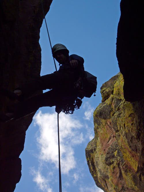 Rappel from Pellaea
