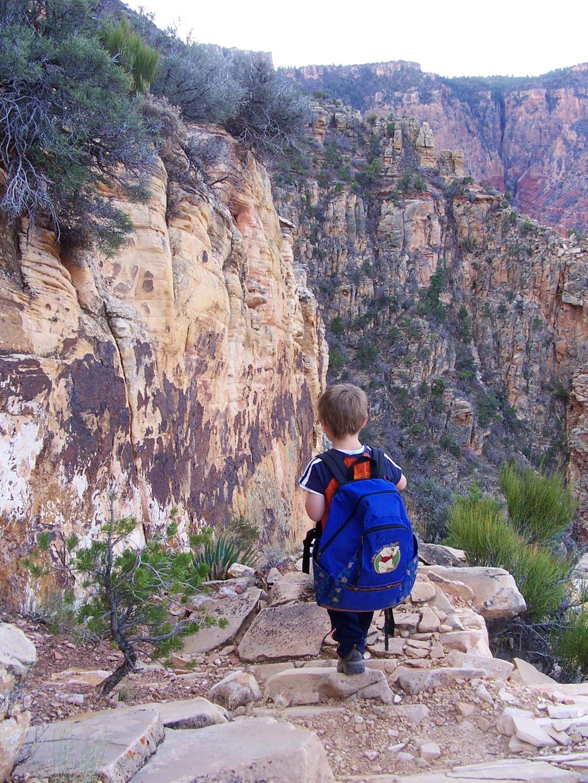 Hance Trail through the Coconino