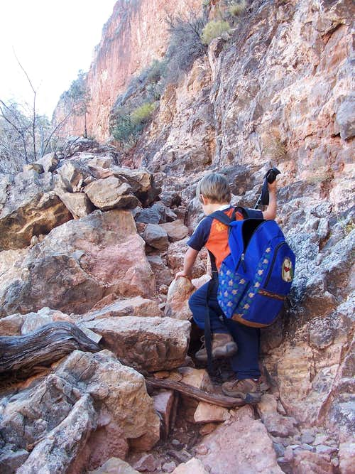 Tackling the East Grandview Route