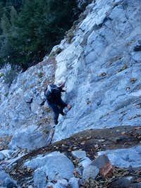 Climbing Falling Rock Canyon
