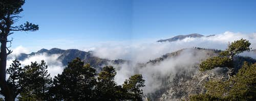 Panoramic of Peaks