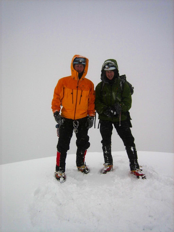 Cotopaxi summit shot