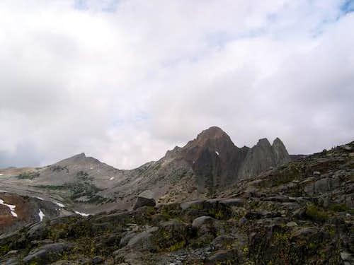 East Face of Virginia Peak...