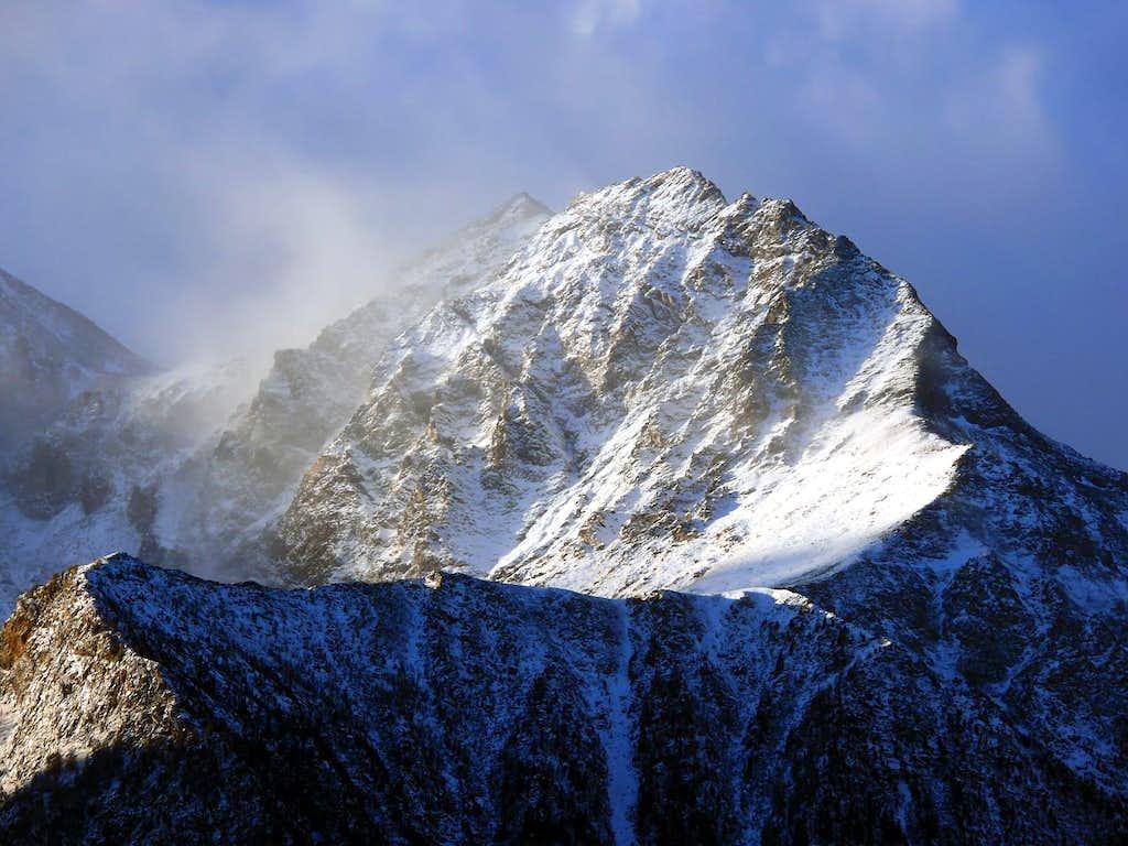 La Becca di Salè (3137 m), versante nord-est