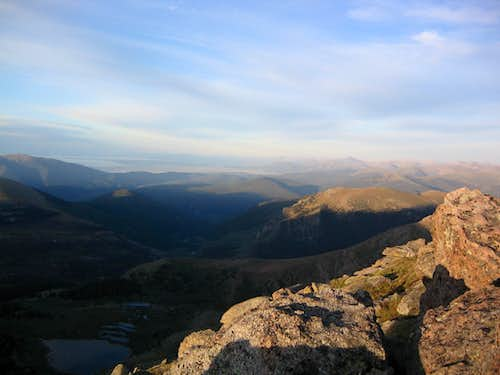 Looking South from Bierstadt\'s East Ridge