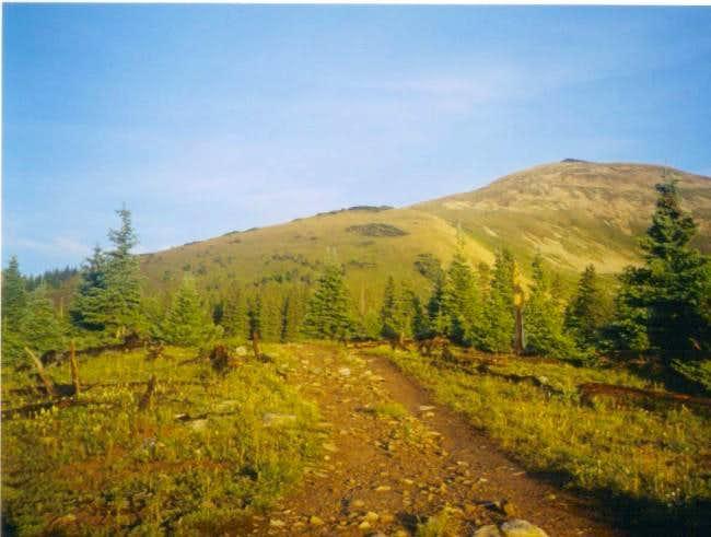 Quandary Peak July 28, 2003
