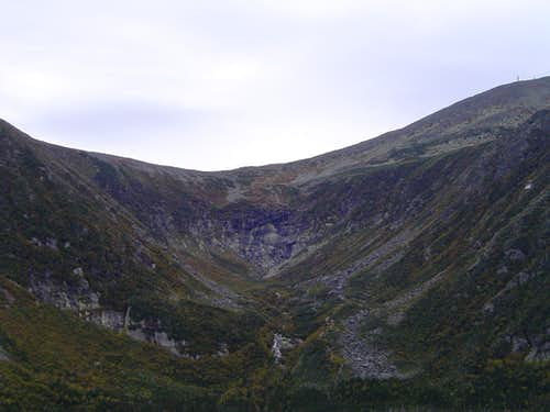 Tuckerman Ravine from Boott Spur
