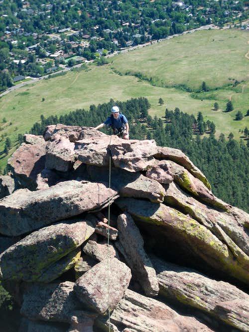 East Face Summit Ridge