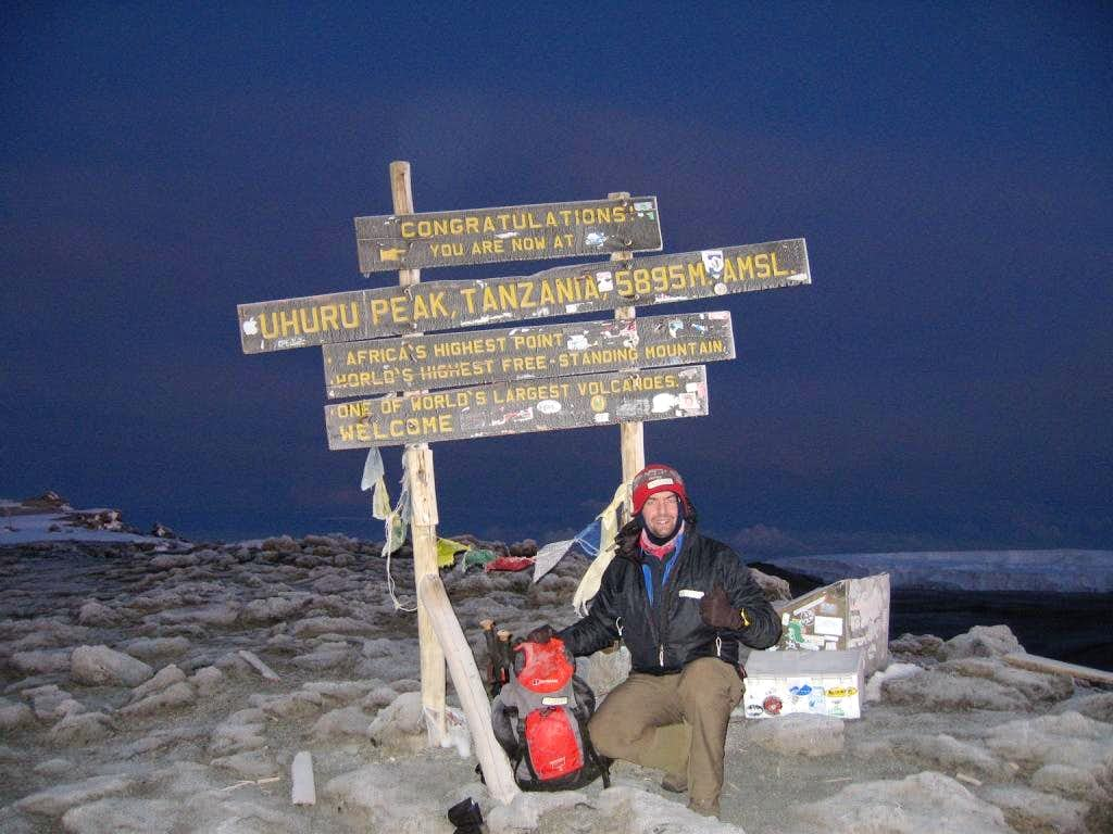me on Kilimanjaro