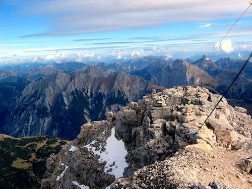Summit of Birkarspitze