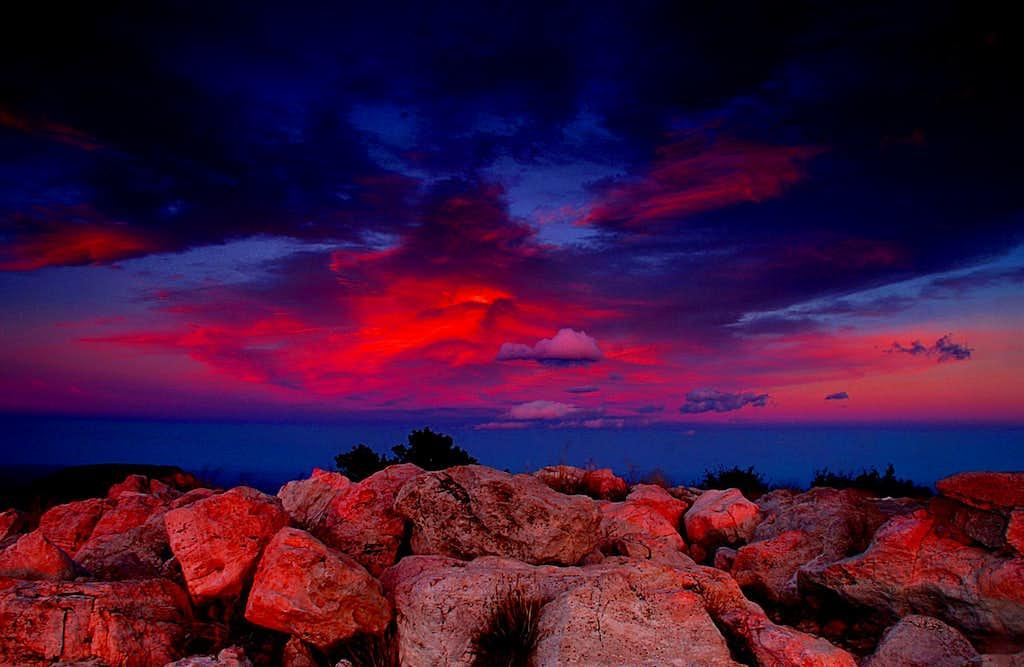 Sunset on the Summit