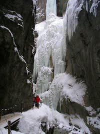 Partnachklamm Winter.