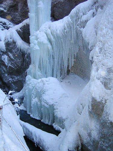 Partnachklamm Winter Wonderland