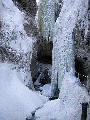 An Icy Partnachklamm