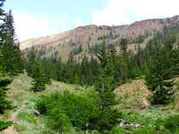 Earl Peak's NW Ridge