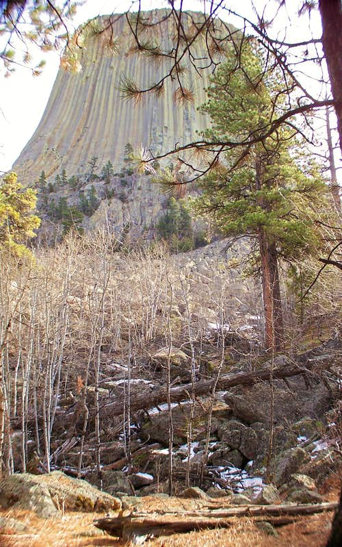 Devils Tower, Wide-angle
