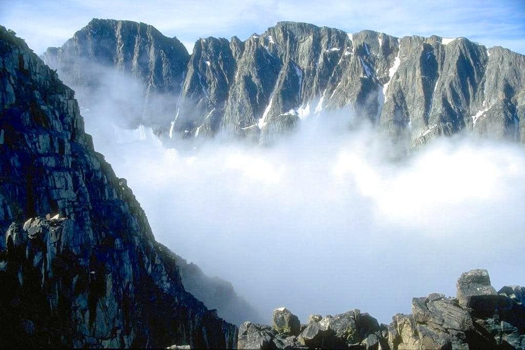 Granite Peak as seen from the...