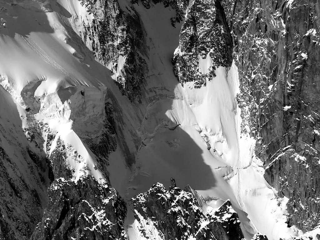 Ghiacciaio della Brenva (Monte Bianco)
