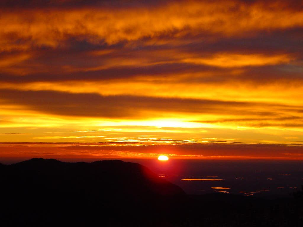 Sunrise in Rocky Mountain National Parc