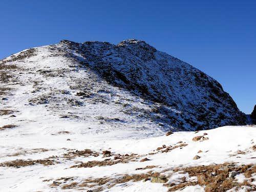 La becca di Viou (2856 m) 28 novembre 2006