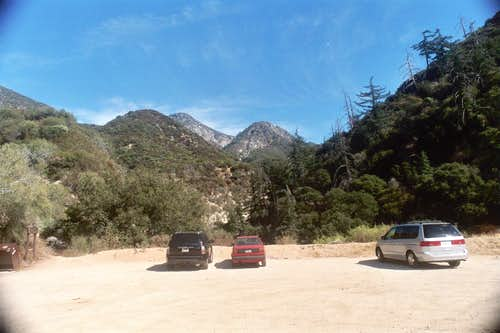Colby Canyon Trailhead, San Gabriel Mountains