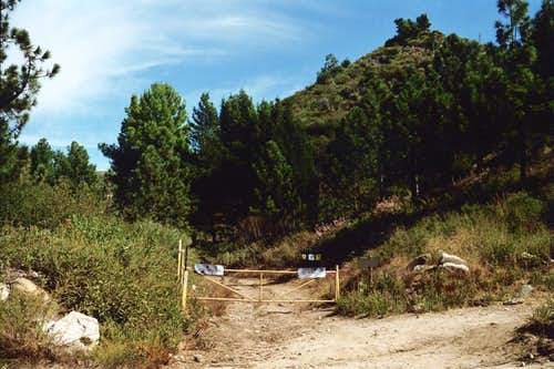 Josephine Fire Road Trailhead