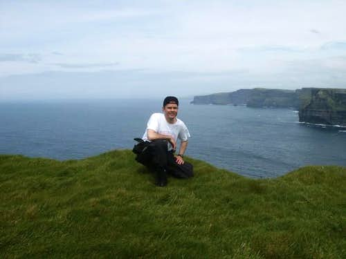 Cliffs of Moher in background...