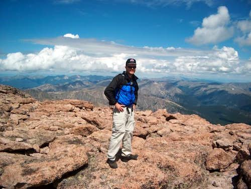 Me on Longs Peak summit...