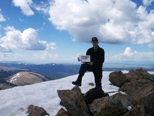 Summit of Mt. Bierstadt...
