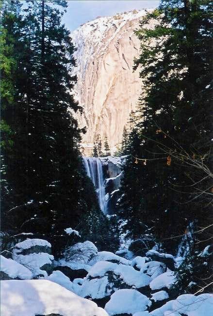 Vernal Falls from the bridge...